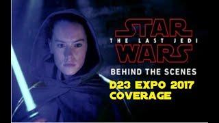 Star Wars The Last Jedi: Behind the Scenes REACTION!!! und D23 2017 Coverage