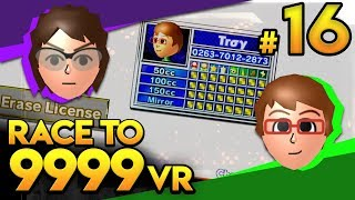 Download Mario Kart Wii - HEY TROY!!! - Race To 9999 VR | Ep. 16 Mp3 and Videos