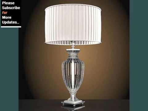 Modern glass table lamp collection youtube modern glass table lamp collection aloadofball Gallery