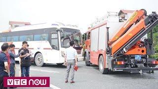 Dựng lại hiện trường vụ tai nạn xe cứu hỏa - xe khách  | VTC Now