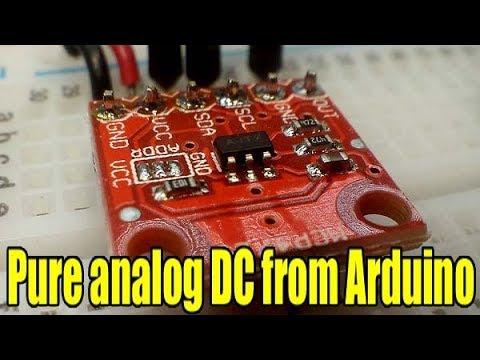 Digital To Analog Converter And Arduino