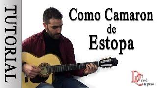 ESTOPA - Como Camaron ( Tutorial )