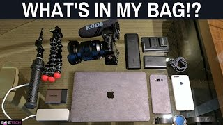 What's in my bag!? minimal travel camera gear - htc u 11 launch event