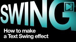 Wie erstellen text-swing-Effekt in VSDC