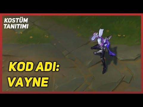 KOD ADI: Vayne (Kostüm Tanıtımı) League of Legends