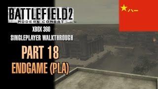Battlefield 2: Modern Combat Walkthrough (Xbox 360) - Part 18 - End Game (PLA)