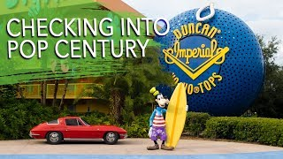 Arriving in Orlando & Pop Century Room Tour   Walt Disney World New Years & Dopey 2018   Day 1 Pt. 1