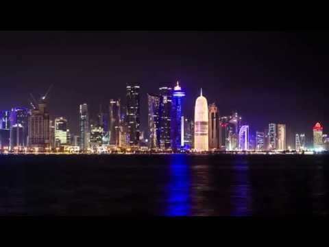 DOHA NIGHT TIMELAPSE
