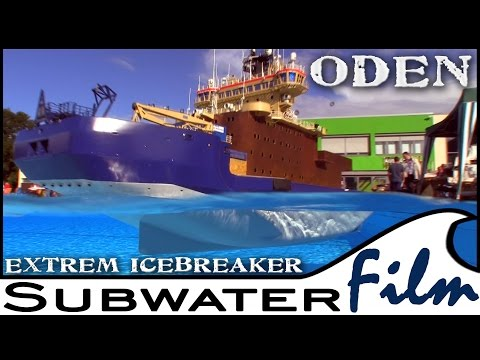 EXTREME rare rc MODEL: ICE BREAKER ODEN unfinished - SUBWATERFILM