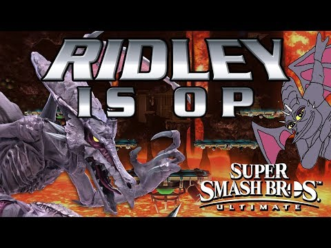 RIDLEY IS OP! - Smash Bros. Ultimate Montage