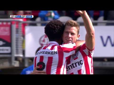 Samenvatting Sparta Rotterdam - PEC Zwolle: 1-1