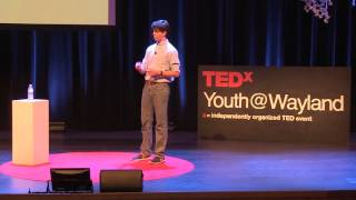 Getting to the Point | Hugh Jones | TEDxYouth@Wayland