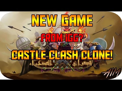 Clash Of Desert New Game From IGG!!! (Castle Clash Clone)