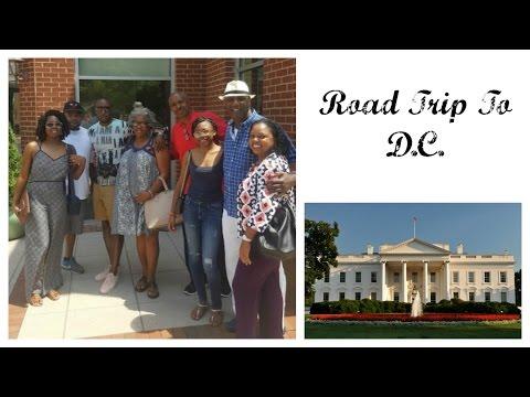 Vlog:Road Trip to DC