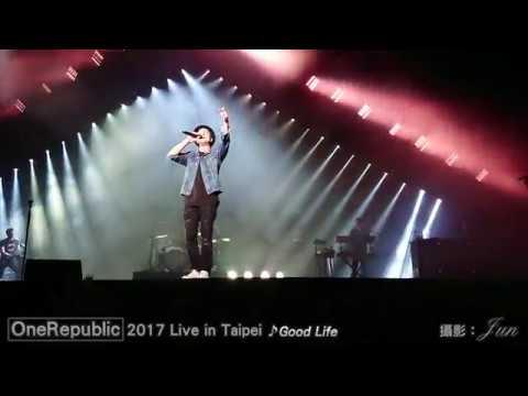《OneRepublic共和世代》2017 Live in Taipei