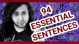 94 ESSENTIAL SENTENCES IN ENGLISH- LISTEN AND REPEAT- WITH PDF AND MP3 FOR SUBSCRIBERS