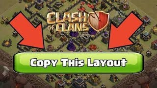 How to copy Layout (new update)Clash of Clans || Techno Gaming Master