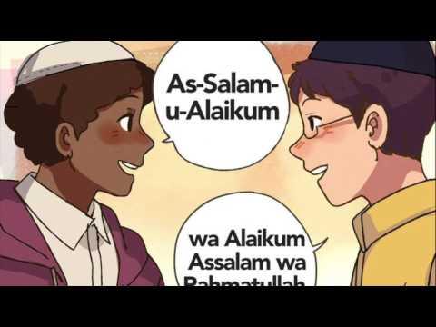 Assalamualaikum - greeting in Islam