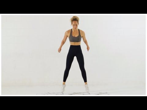 Week 1 Day 4 // Full Body HIIT + Abs Workout (No Equipment)