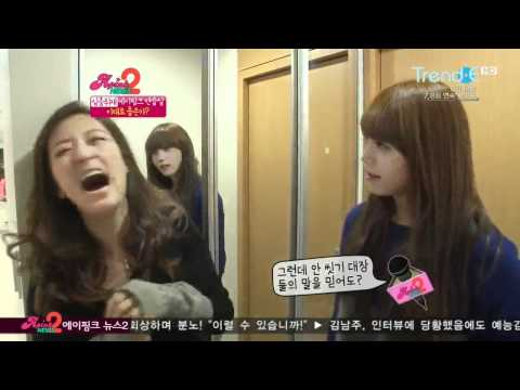 [CUT] A Pink's Practice Room Cleaning