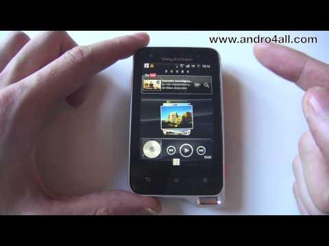 Videoreview SE Xperia Active [HD] [ESPAÑOL]