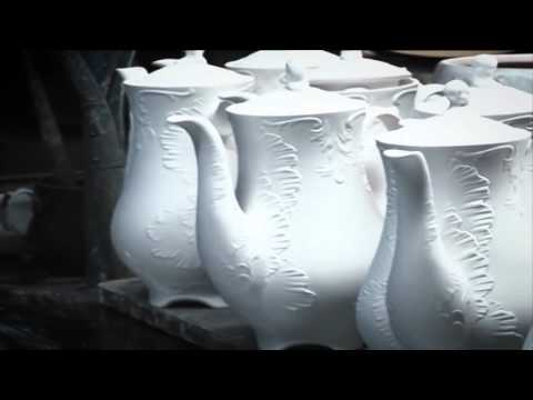 Our Fine Porcelain Products - how it's made