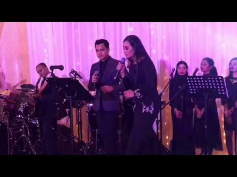 Alif Satar & Marsha Milan - Ku Pinang Kau Dengan Bismillah ( Pasha & Rossa)