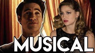 The Flash 3x17 Supergirl Musical Trailer Breakdown - Music Meister's Movie Musical!