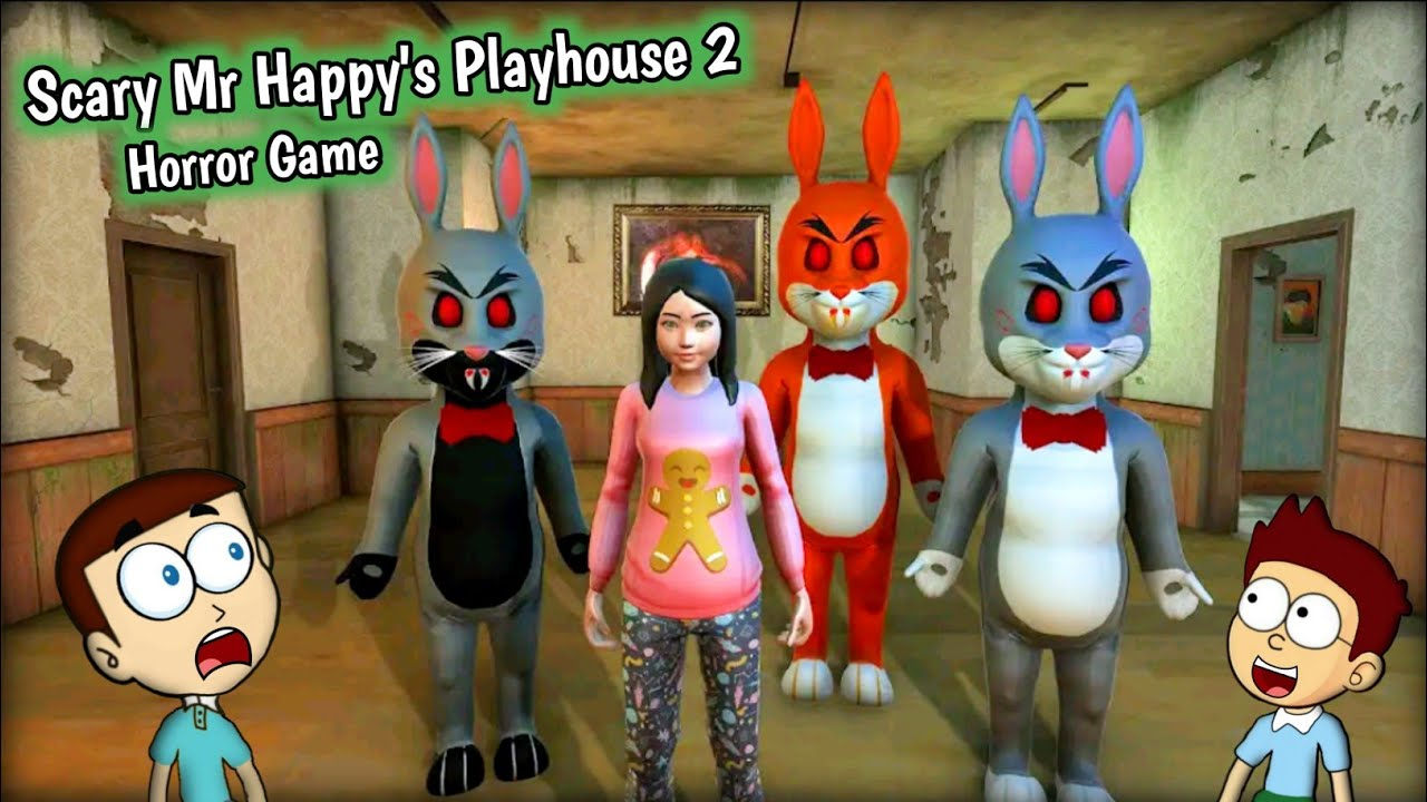 Download Scary Mr Happy's Playhouse 2 - Android Game | Shiva and Kanzo Gameplay