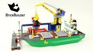 Lego City 4645 Harbour - Lego Speed Build