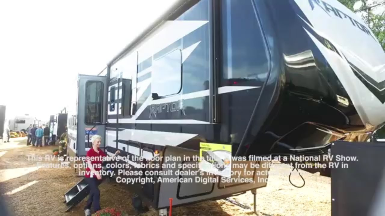 New 2020 Keystone RV Raptor 415 Toy Hauler Fifth Wheel at RV