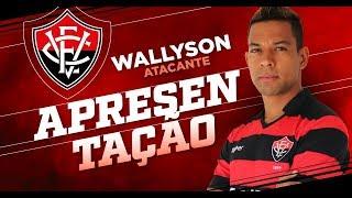 Apresentação oficial do atacante Wallyson
