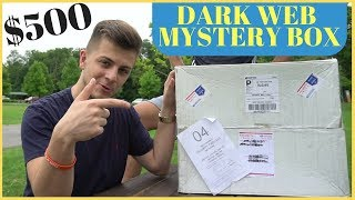 Opened a Mystery Box From The Dark Web (Stalked?)