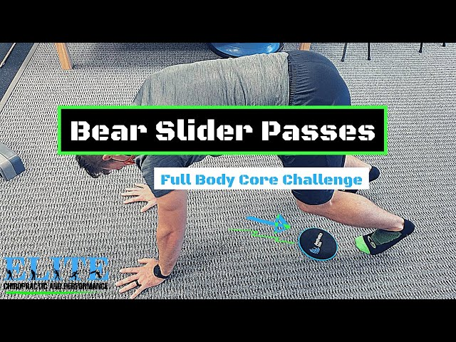 Bear Slider Passes | Core Stability Exercise | Chesterfield Chiropractor