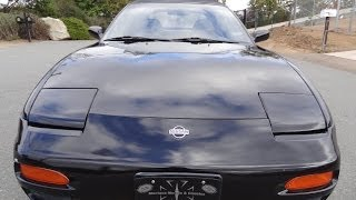 1994 Nissan 240sx Silvia S13 LE Convertible Test Drive Video