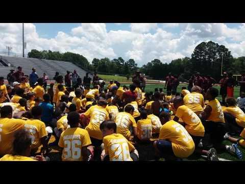 D.J. Swearinger Football Camp at Greenwood High School