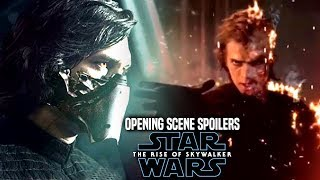 The Rise Of Skywalker Opening Scene Leaks! WARNING (Star Wars Episode 9)