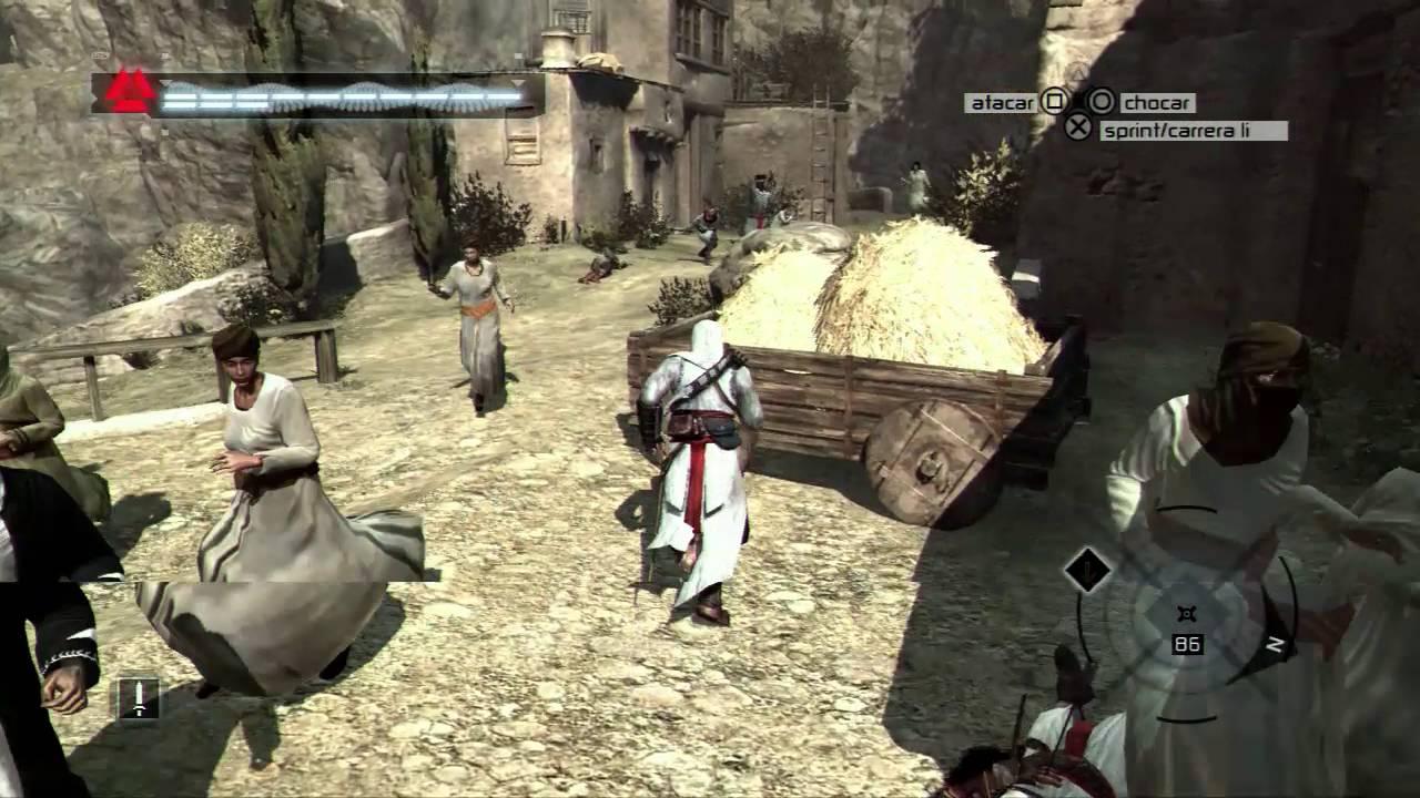 Gameplay De Assassins Creed 1 Ps3 En Español - YouTube