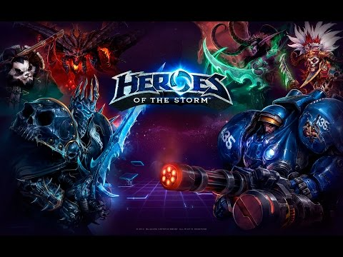 видео: heroes of the storm - бета-тест moba игры | Первый взгляд