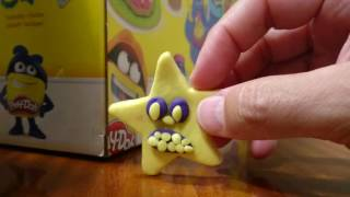 Play-Doh angry star