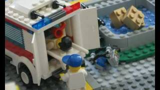 Lego City  earthquake
