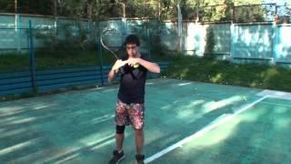 Теннис. Подача. Часть 1.