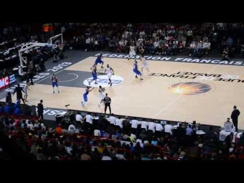 Finale coupe de France de Basket 2013 : ParisLevallois VS JSF Nanterre