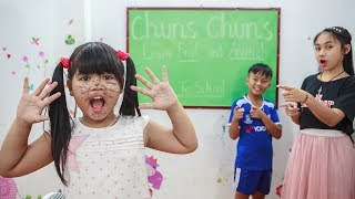 Kids Go To School | Chuns And Friend Learn Color Creativity Of Children 2
