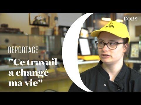 """""""Cet emploi a changé ma vie"""" : dans ce café, les serveurs sont autistes ou trisomiques"""