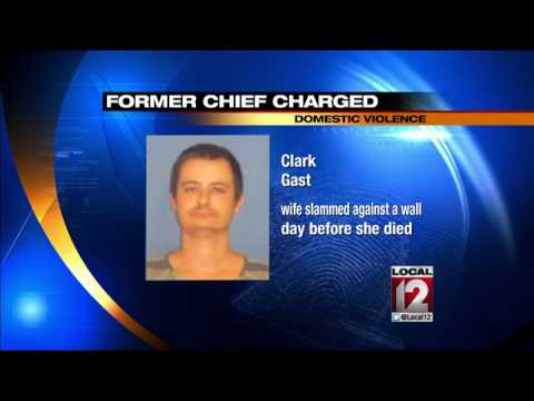 Former police chief arrested charged with domestic violence