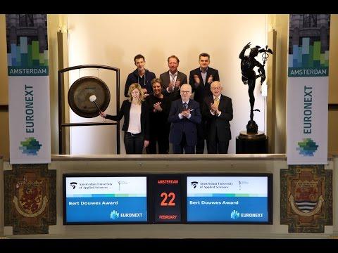 Bert Douwes Award winner visits Beursplein 5