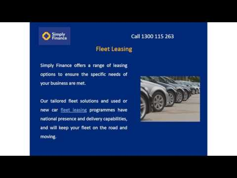 Fleet Leasing at Lowest Price Guaranteed - Simply Finance