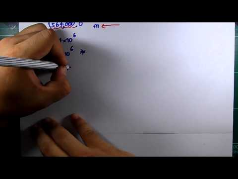 สรปเนื้อหา เลขยกกำลัง ม.2 เรื่อง สัญกรณ์วิทยาศาสตร์ Part 1 ฺBy ครูโบ๊ท log8