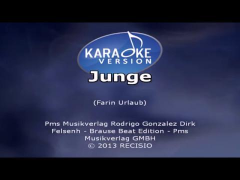 Junge -- Heino Karaoke